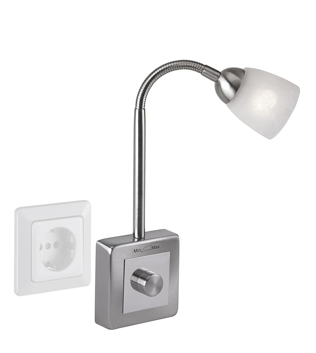 Wall lamp plug in paul neuhaus 1290 55 amazon lighting mozeypictures Image collections