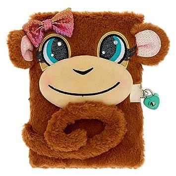 Amazon.com: Claires Girls Maddie The Monkey Lock - Agenda ...