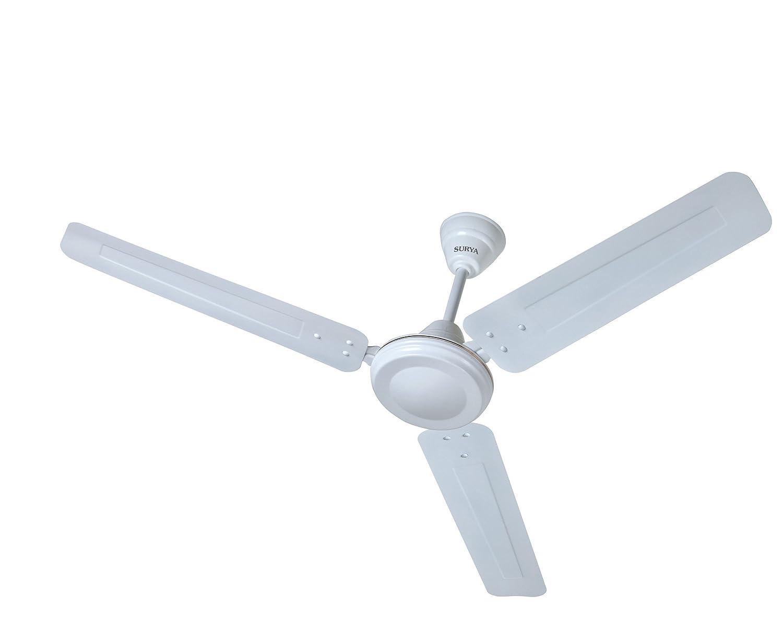 Buy Surya Shakti 1200mm Ceiling Fan (White) Online at Low