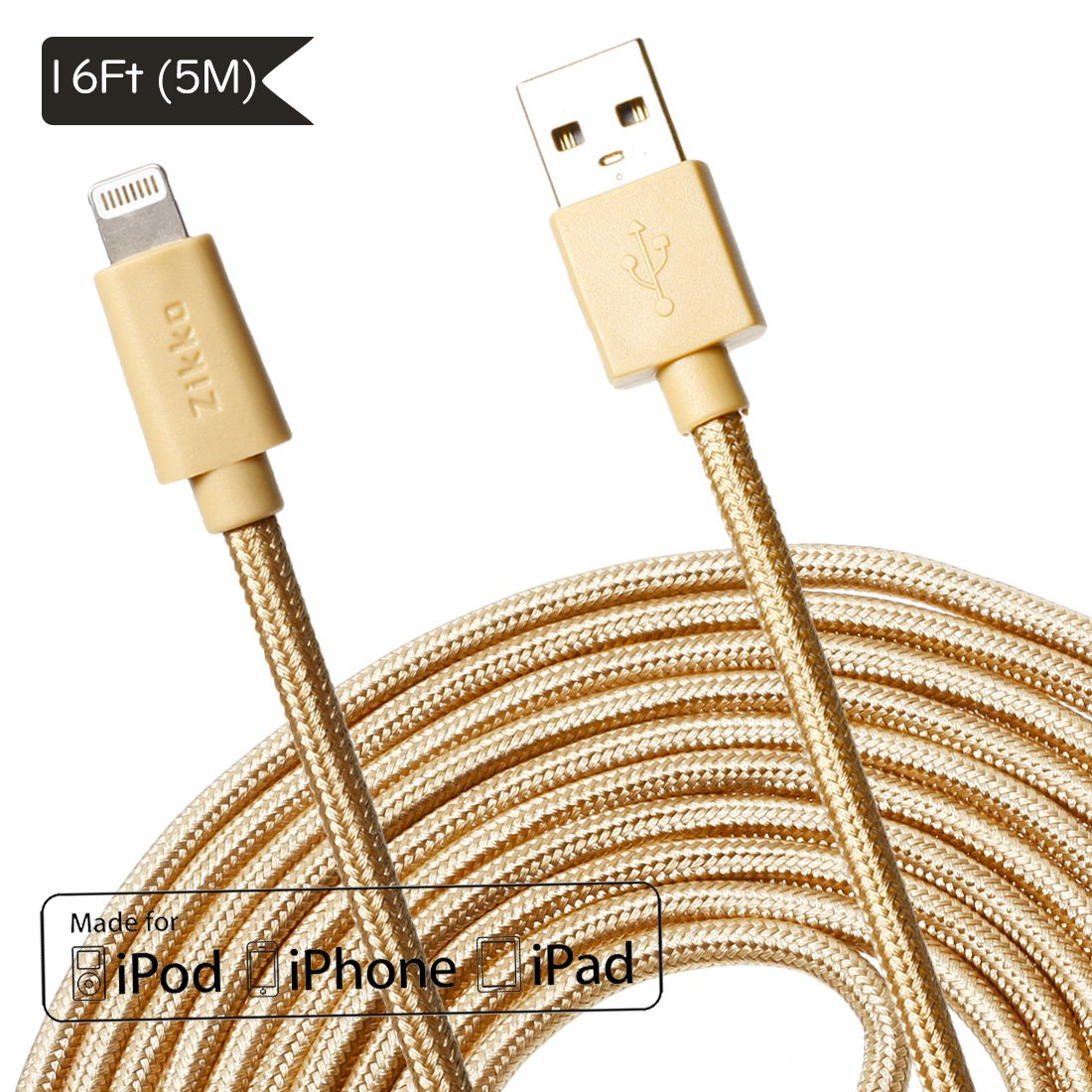Zikko Et Lightning To Usb Cable Spec Dan Daftar Harga Terbaru Belkin Premium 15cm Black F8j144 Long 16ft 5m Mfi Certified 24a Charge And Sync Nylon