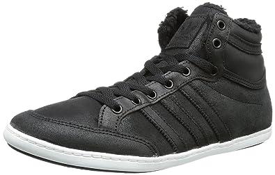 adidas Plimcana Low, Low Top Homme Noir Schwarz (Black 1
