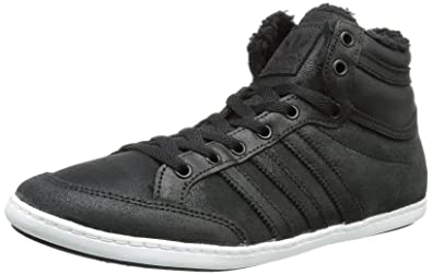adidas Originals PLIMCANA MID FU, High-top homme, Noir - Schwarz (BLACK1/BLACK), 45 1/3