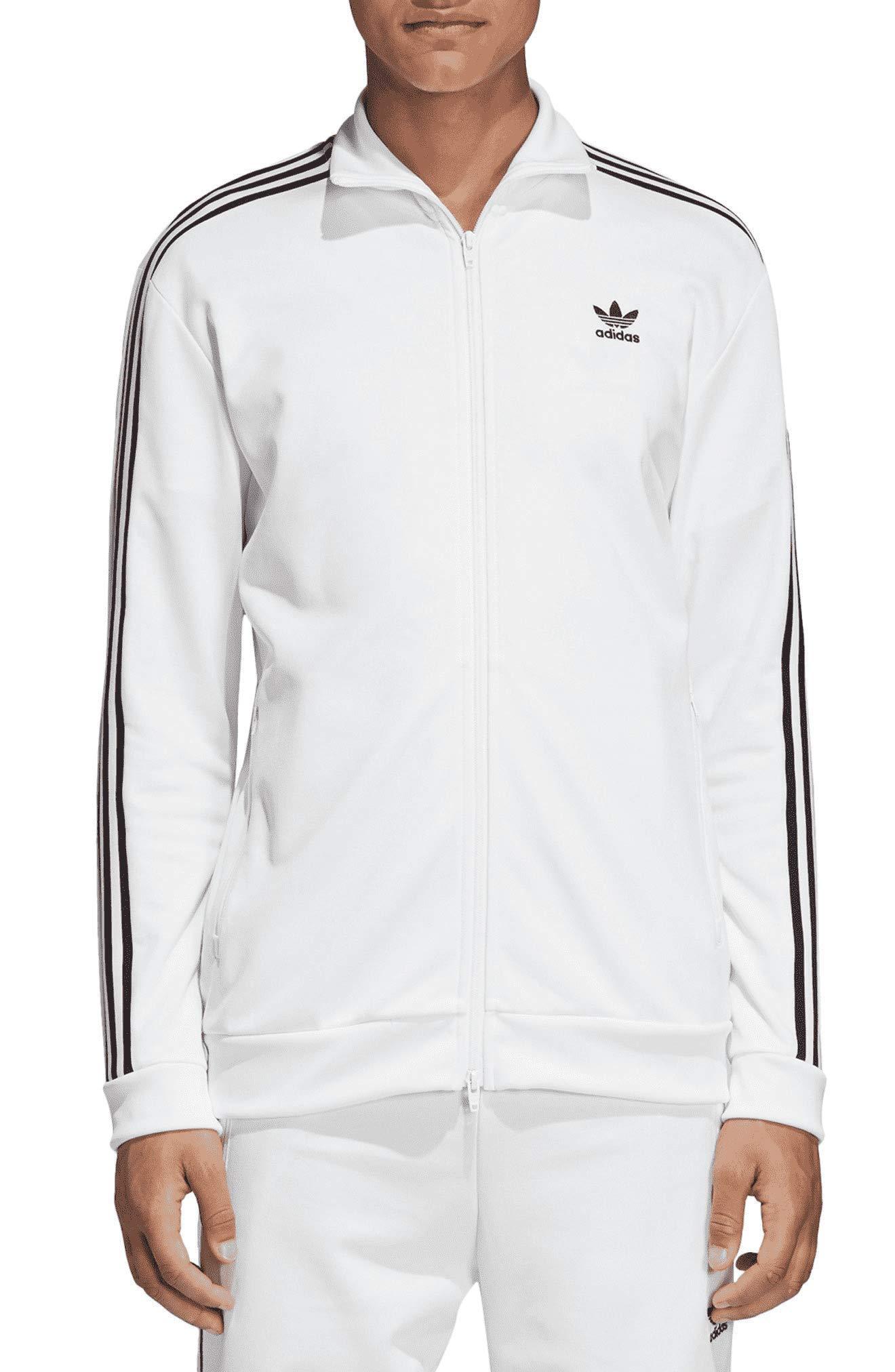 adidas Originals Men's Franz Beckenbauer Track Top White Small by adidas Originals