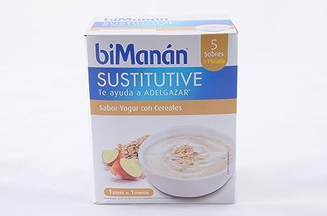 BIMANAN - BIMANAN Crema de Yogur con Cereales 5 sobres