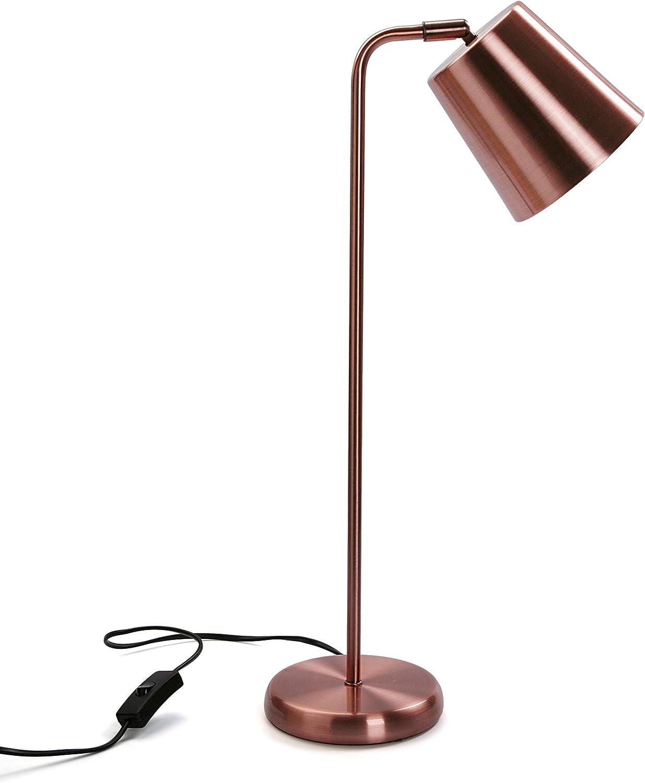 Versa Lámpara de Mesa Flexo Gustave, Metal, Cobre, 57 x 18 x 18 cm ...