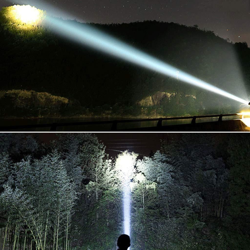 JU FU Starke helle Taschenlampe Wiederaufladbare super helle Wasserdichte Licht Licht Licht Multi-Funktions-Spezialeinheiten suchen Tragbare   B07JZ9DQMW   Großartig  b448cc