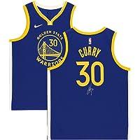 $699 » Stephen Curry Golden State Warriors Autographed Blue Nike 2019/20 Swingman Jersey - Autographed NBA Jerseys