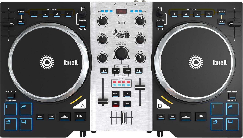 Hercules DJ Control Air+ S Series (2 Deck DJ Controller, XL