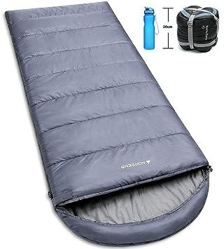 Amazon.com: Norsens saco de dormir para senderismo y camping ...