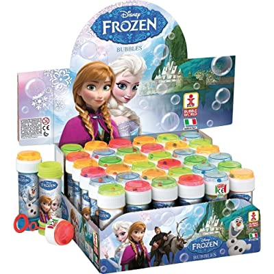 Toyland Box of Childrens Girls Frozen Elsa Anna Bubbles Pots Party Bag Stocking Fillers: Toys & Games