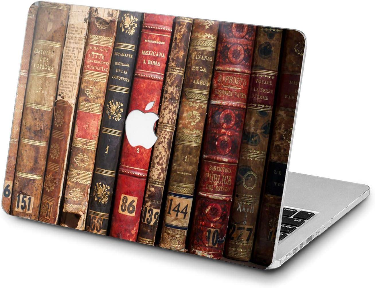 Lex Altern Hard Case for Apple MacBook Pro 15 Air 13 inch Mac Retina 12 11 2020 2019 2018 2017 2016 Typewriter Women Wooden Vintage Plastic Steampunk Retro Design Touch Bar Shell Cover Fashioned