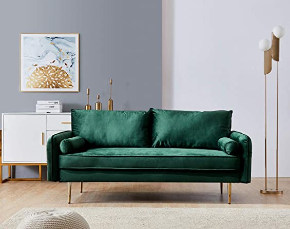 Velvet Couch Loveseat Sofa
