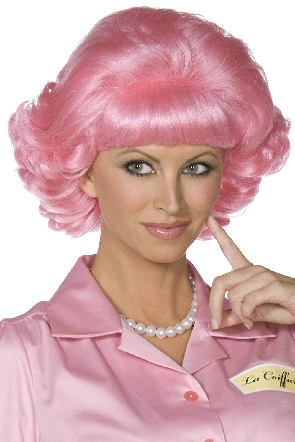 Smiffys Frenchy Wig - Pink RH Smith & Sons 42127