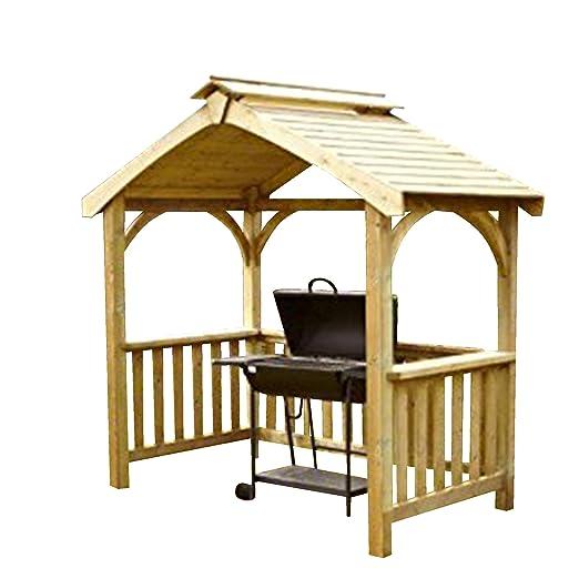 Ancla rápida Devon barbacoa de madera refugio - . venta.: Amazon.es: Jardín