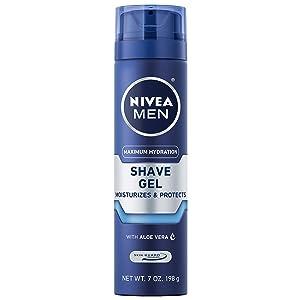 Nivea Men Original Moisturizing Shaving Gel, 7 Ounce