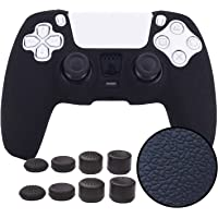 Grips for PS5 Controller Skin,Pandaren Texture Pattern Cover for Sony DualSense Controller Sweat-Proof Anti-Slip…