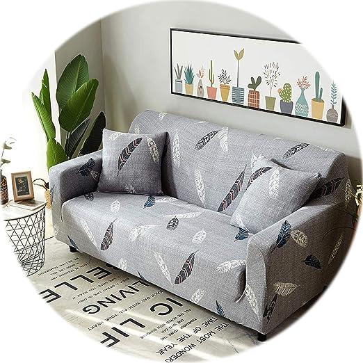 New face Funda de sofá elástica con diseño de Cuadros, para ...