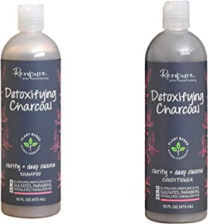 product image for Renpure - Detoxifying Charcoal Shampoo and Conditioner 16 FL OZ - Set of 2