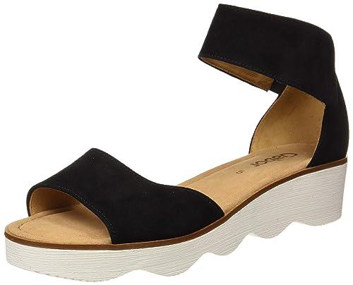 Gabor Damen Fashion Riemchensandalen: Schuhe & Handtaschen