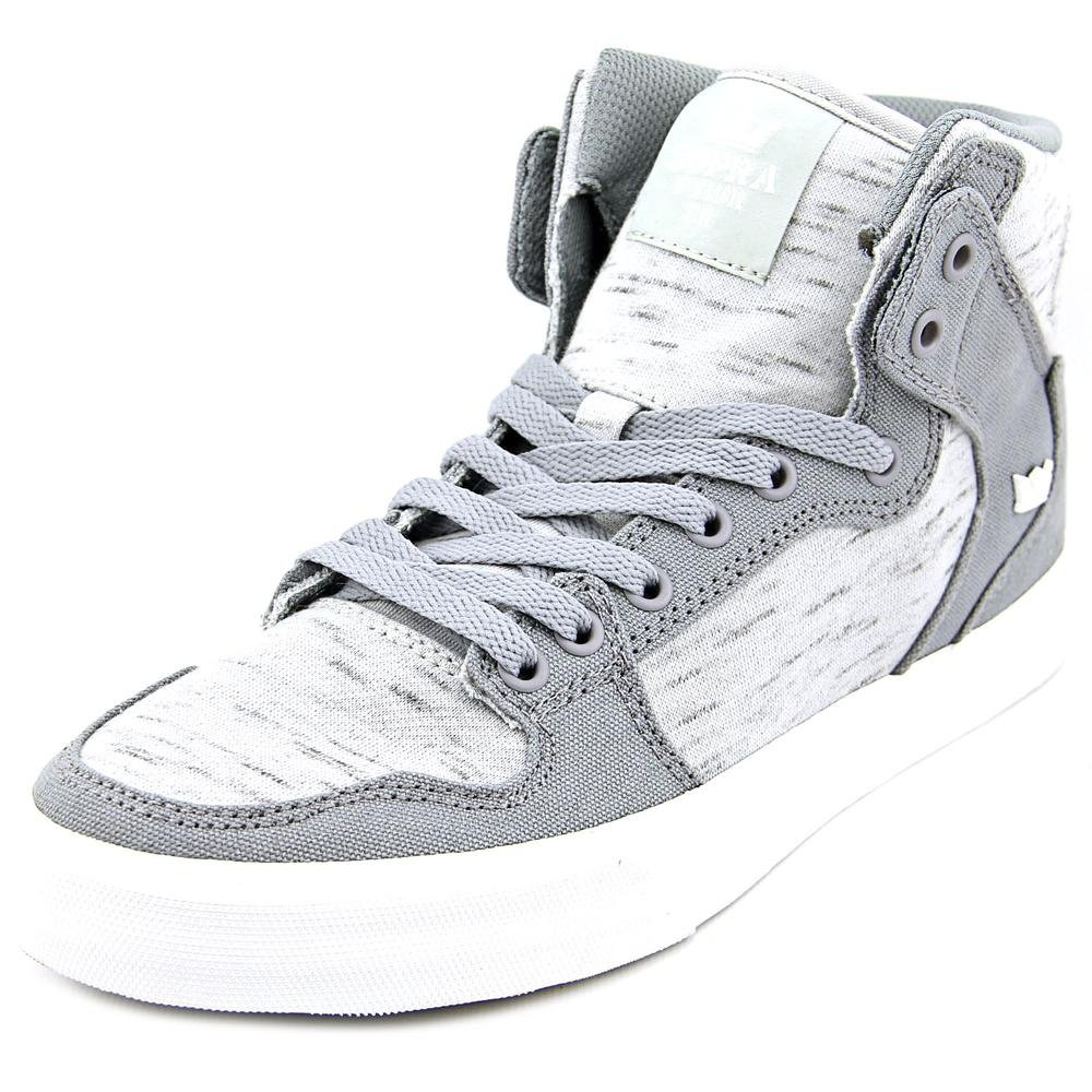 Supra Vaider LC Sneaker B01B3RM6AK 11.5 M US|Grey Canvas
