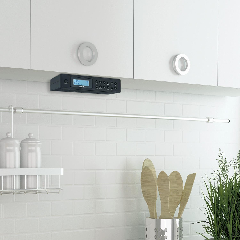 oneConcept Plug+Play Dab Radio de Enchufe /• Bluetooth /• Radio Digital /• Sintonizador Dab+//FM /• RDS /• USB /• B/úsqueda de emisora autom/ática /• Pantalla TFT /• Antena Extensible /• Compatible EU//UK /&bull