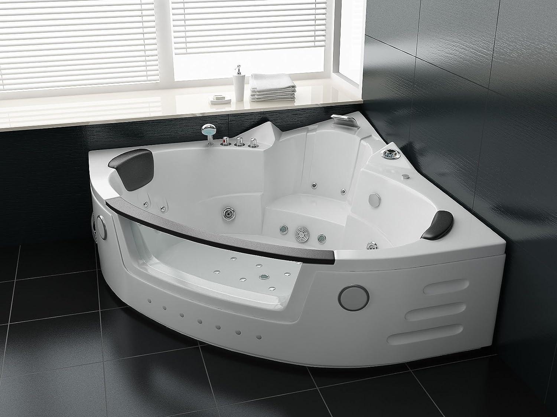 Hochwertig Luxus Whirlpool Badewanne 152x152 Mit Vollausstattung (Massage): Amazon.de:  Küche U0026 Haushalt