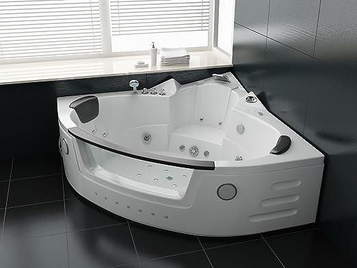 Whirlpool Bad Accessoires : Luxus whirlpool badewanne 152x152 mit vollausstattung massage