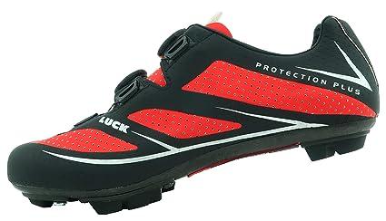 LUCK Zapatilla de Ciclismo Avatar 7.0 MTB,Serie Profesional, Doble Suela de Carbono y Doble Sistema rotativo de precisión.: Amazon.es: Deportes y aire libre