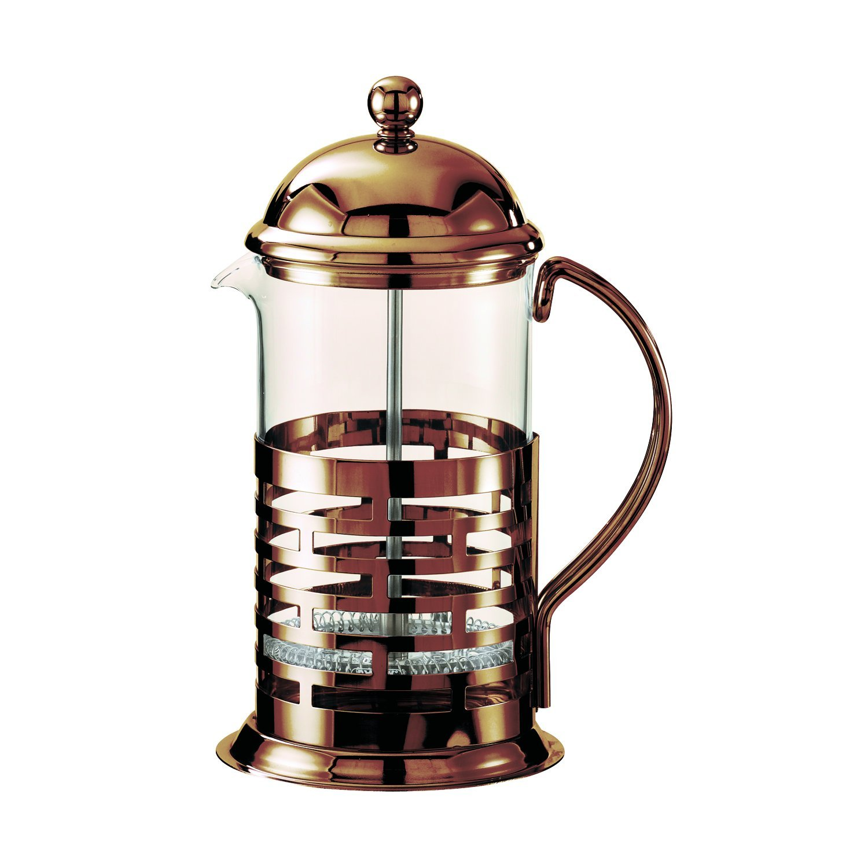 Service Ideas T277BRNZ Brick Coffee Press, Bronze, 350 mL