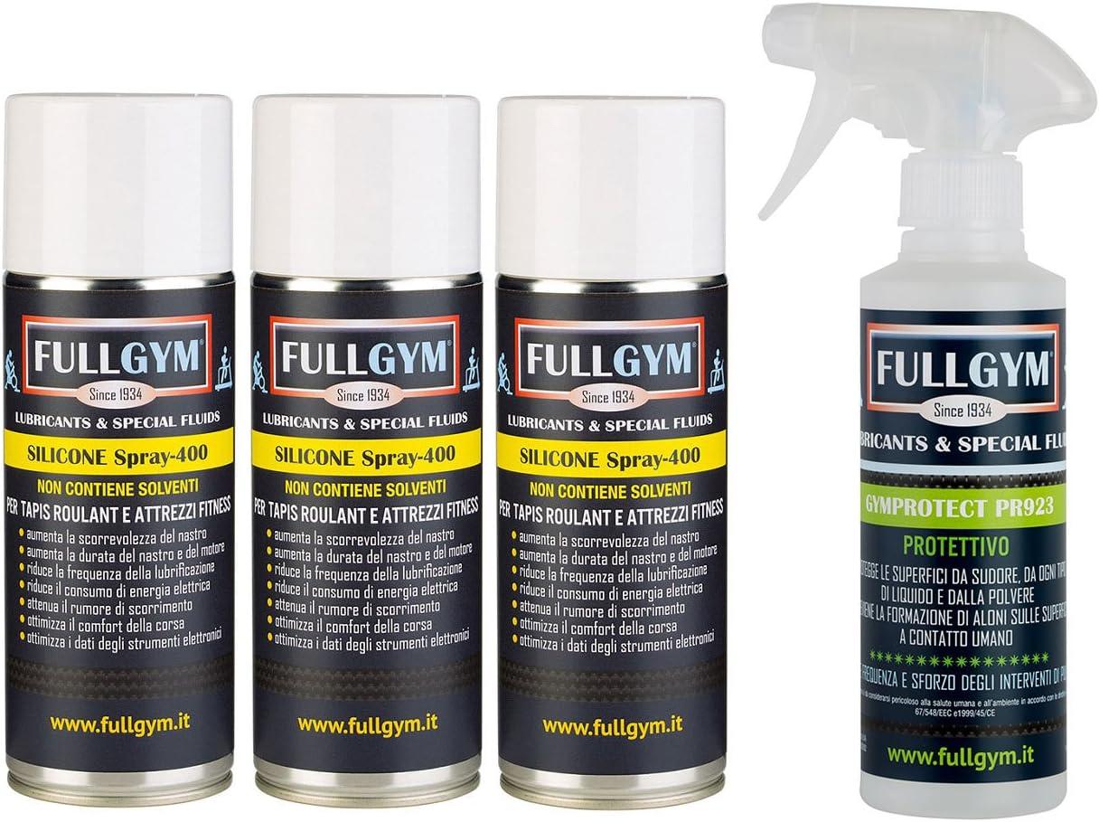 Kit Lubricante Silicona Spray + Protección gymprotect Pr 923 ...
