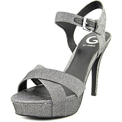Cenikka 2 Women US 6.5 Silver Platform Sandal