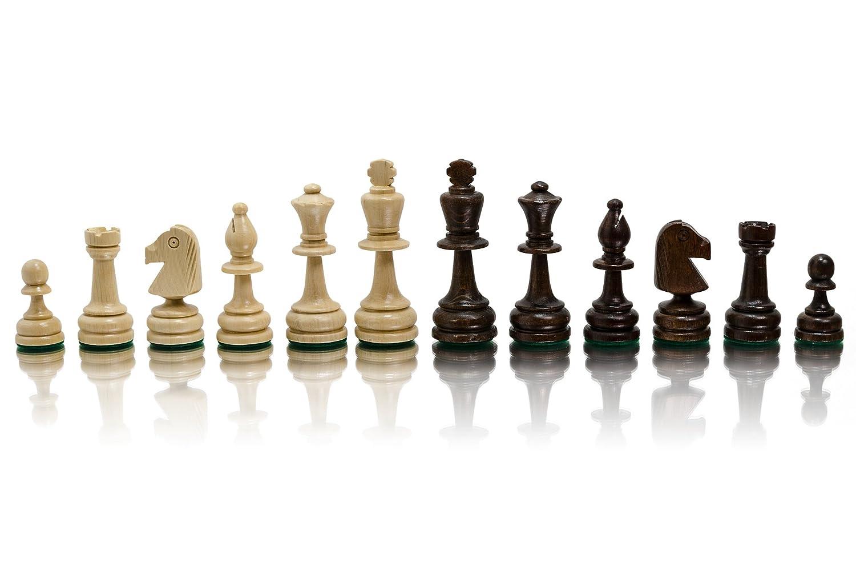 Figuren STAUNTON No.5 Professionelle Holz gewichteten Schach