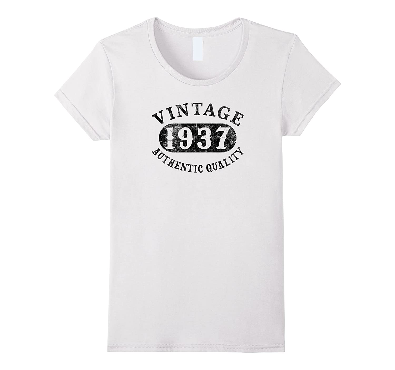 1937 Vintage 80 years old 80th B-day Birthday Gift T-Shirt