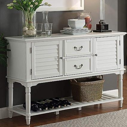 Amazon Com Simple Interior Kitchen Buffet Table Modern