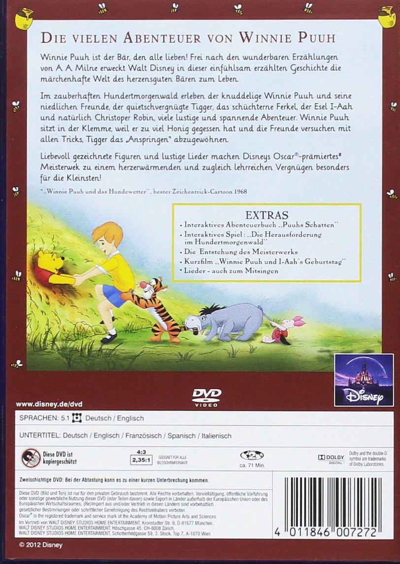 Amazon.com: Winnie Puuh - Die vielen Abenteuer von Winnie Puuh ...