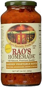 Rao's Specialty Food Italian Pasta Sauce - Pepper And Mushroom - 24 Ounces