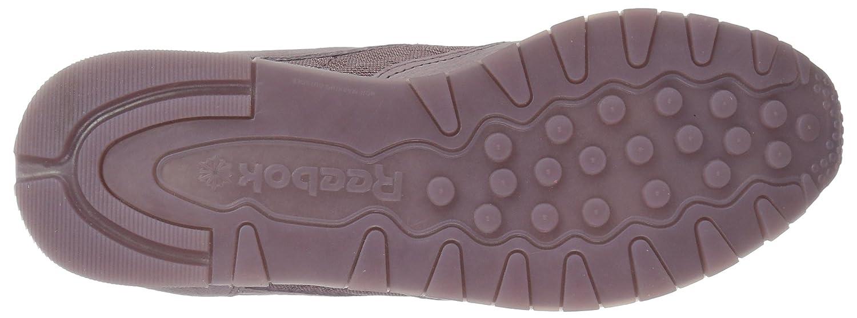 Reebok Women's Cl Lthr Lace Sneaker B074V1JDQF 9.5 B(M) US|Smoky Orchid/White