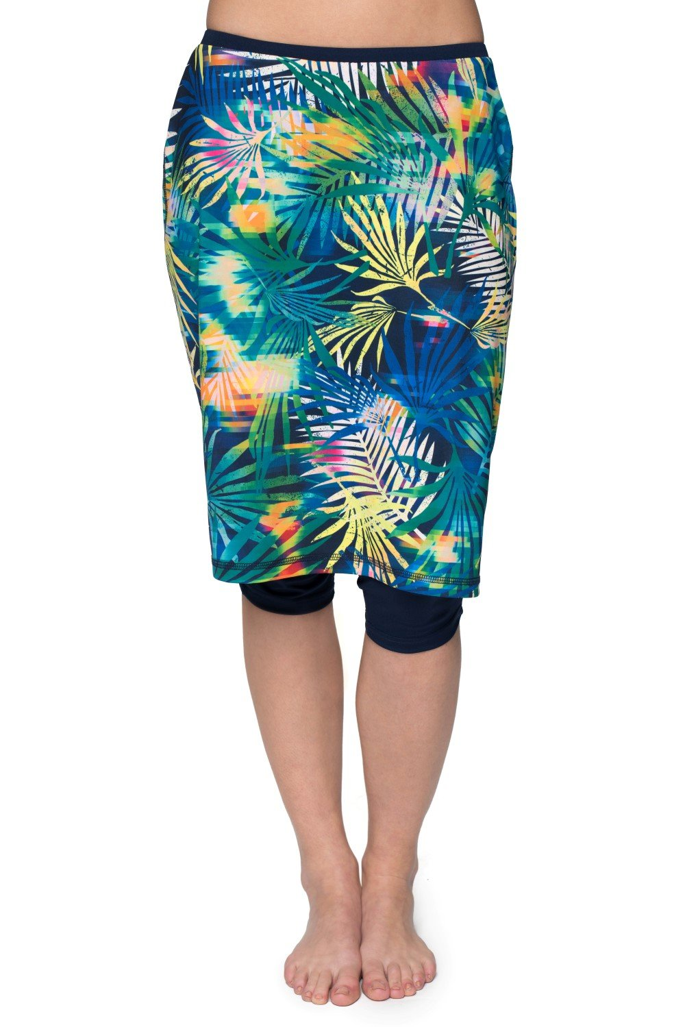 HydroChic Inspire Swim and Sport Skirt - Chlorine Proof - Night Swim/Navy, 2X Plus