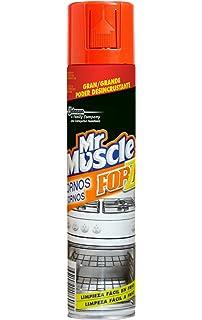 Mr Muscle Limpiahorno Forza - Gel de limpieza para hornos, gran poder desincrustante en frío