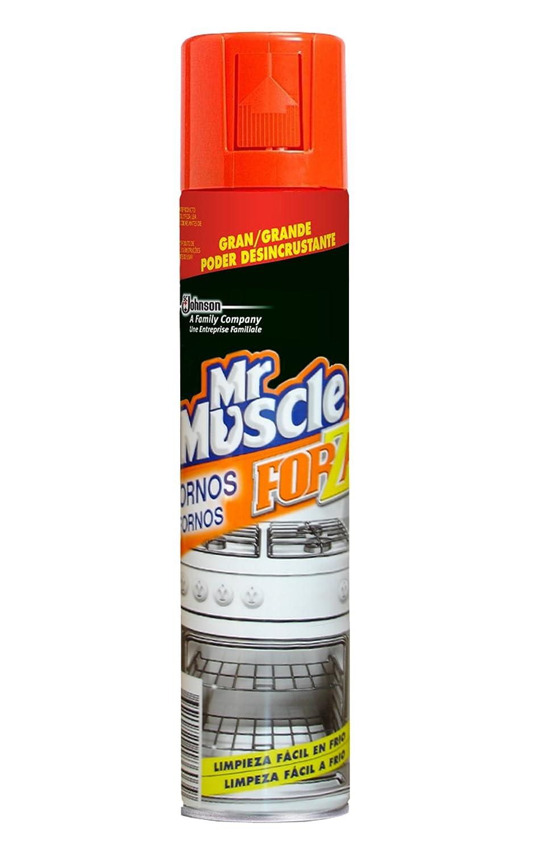 Mr Muscle Limpiahorno Forza - Gel de limpieza para hornos, gran poder desincrustante en frío, formato 300 ml: Amazon.es: Belleza