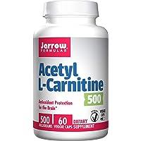 Jarrow Formulas Acetyl L-Carnitine, 500mg - 60 vcaps, 60 Tablet