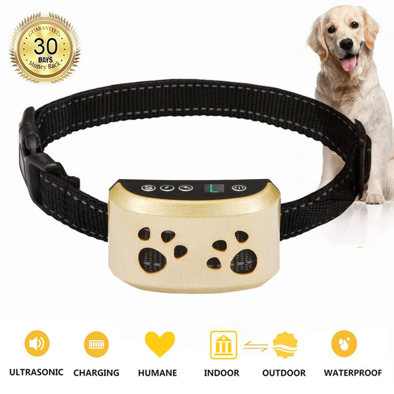 BeiBeiDan Dog Bark Collar-7 Adjustable Sensitivity and Intensity Levels-Dual Anti-Barking Modes-Rechargeable-Rainproof-No Barking Control Dog Shock Collar for Small Medium Large Dogs by BeiBeiDan