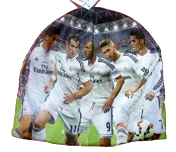 Official Licensed FC Real Madrid ONE SIZE Christiano Ronaldo   Teammates Beanie  Hat BEAUTIFUL - Licensed d01f6d637