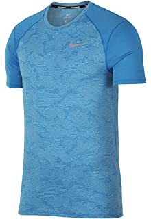 f91f0b40 Amazon.com: NIKE Mens Breath Milers Cool Short Sleeve Running Top ...