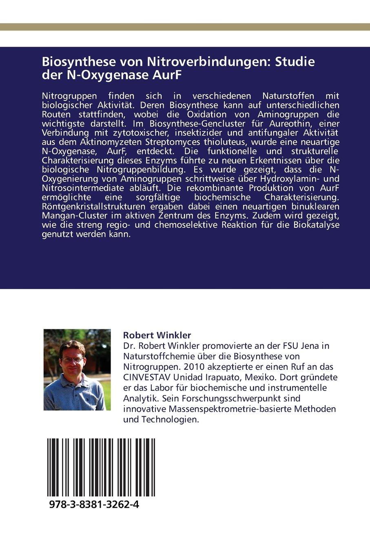 Biosynthese Von Nitroverbindungen Studie Der N Oxygenase