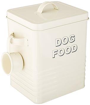 Lesser & Pavey - Bote para almacenar la comida del perro (20 cm),