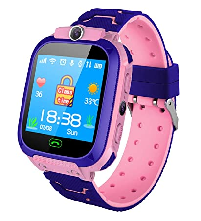 Amazon.com: Waterproof Kids Smart Watch SOS Anti-Lost ...