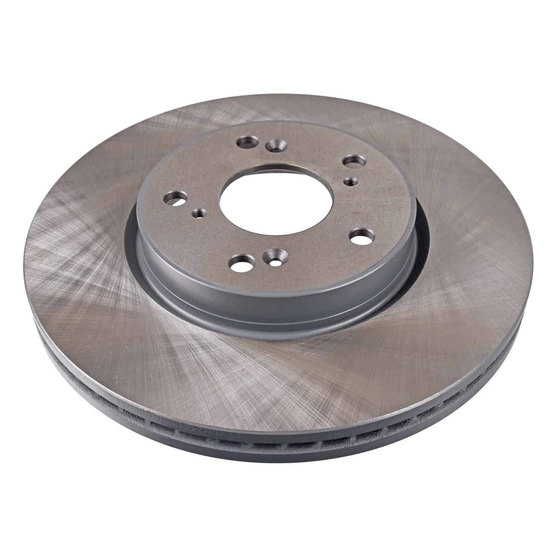 front No internally ventilated of Holes 5 2 Brake Disc Blue Print ADH243133 Brake Disc Set