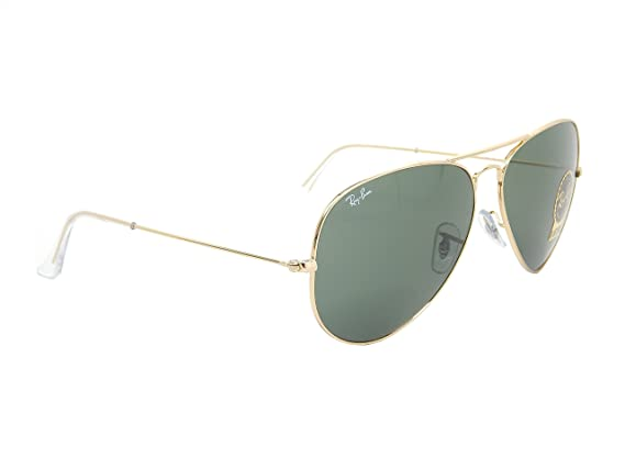 1a5c61ec2f ... models aviator large metal ii f0eb0 da9b9  sale amazon ray ban aviator  rb3026 l2846 gold green classic 62mm sunglasses clothing 04d5d fa6f4