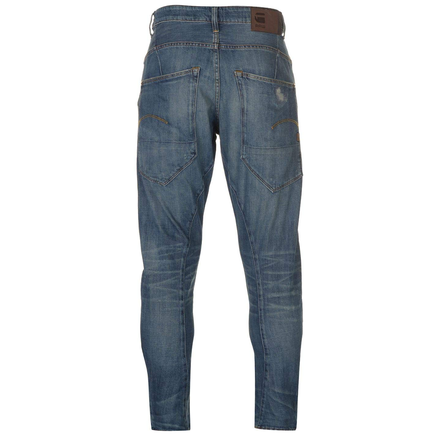 G-STAR RAW Men's Type C 3D Tapered Fit Jean, Medium Aged Restored, 34x32:  Amazon.co.uk: Clothing